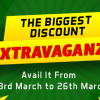 23rd March calls for the Big Discount Extravaganza!