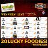 Ramadan Rupiya Offer Winners: 1 Aug 2013