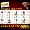 Ramadan Rupiya Offer Winners: 30 Jul 2013