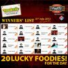 Ramadan Rupiya Offer Winners: 31 Jul 2013