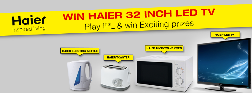 Haier Prizes For IPL 2014