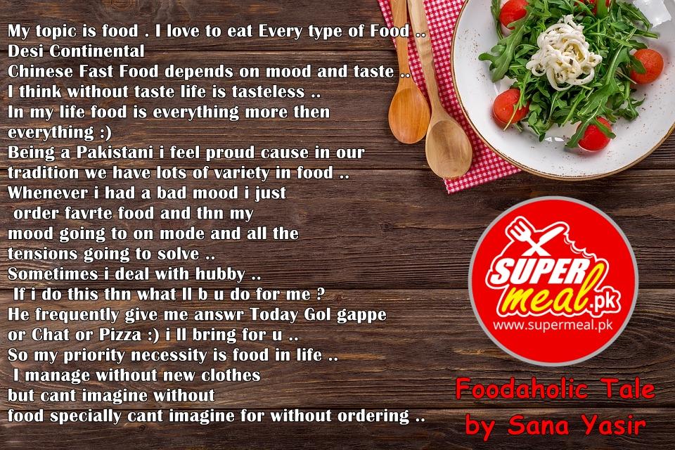 Foodaholic Tales 1